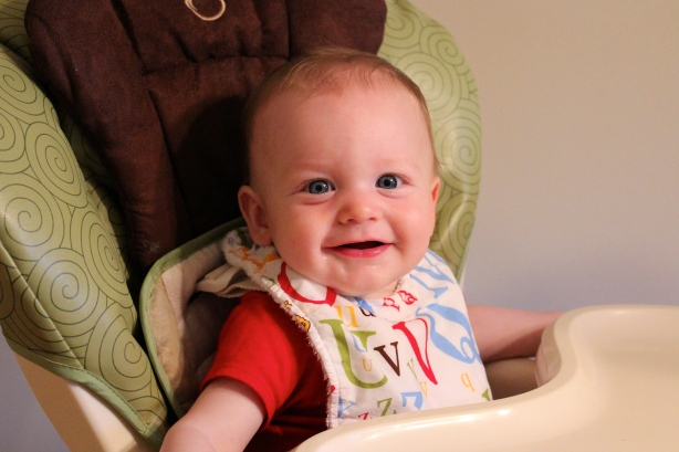 7 months in the high chair