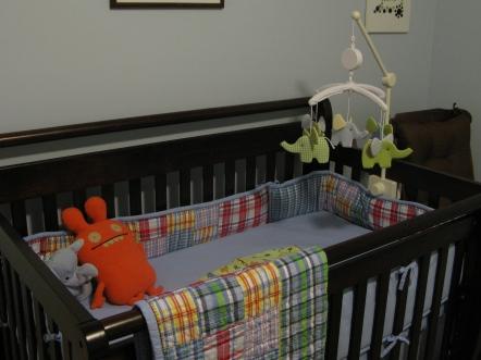 J's nursery, pre-baby